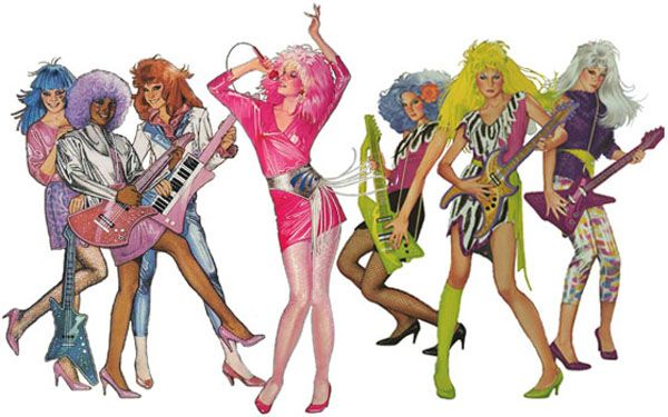 Jem & the Holograms - so cool!