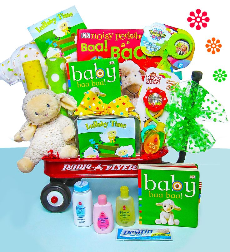 Baby Lullaby Wagon Gift Set (#BBC305)