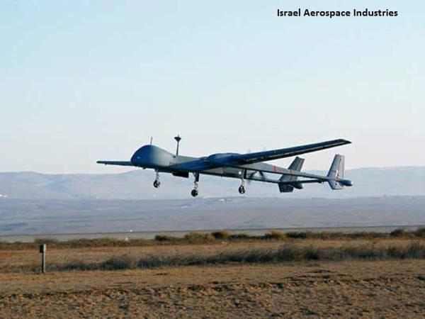 Government approves $400-million plan to procure armed Heron TP drones from Israel - The Economic Times