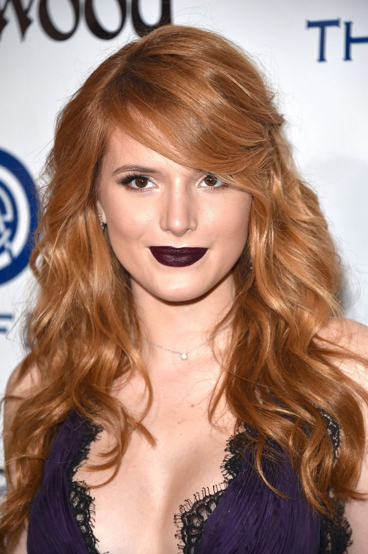 Best  Wavy Hairstyle With Fringe Or Bangs, Bella Thorne Side Swept Fringe wavy hairstyle with fringe or bangs|trough.info, ,  #wavyhairwithfringebangs...