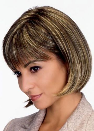 medium lengths haircuts bobs chic and synthetic wigs on 4156