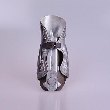 Våben Inspireret af Assassin's Creed Ezio Anime / Videospil Cosplay Tilbehør Våben Sølv PVC Mand 989533 2017 – kr.214