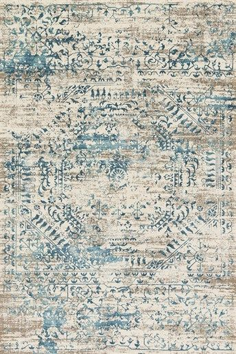 Love this rug for you! Adds the hint of blue that you've been wanting. Loloi Rugs Kingston KT-05 Rugs | Rugs Direct