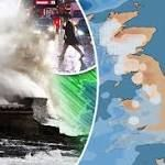 UK weather MAPPED: Where and when snow and rain will lash Britain TODAY