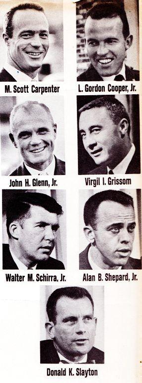 Original 7 NASA Astronauts