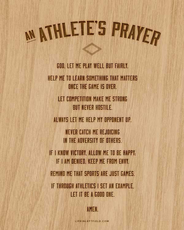 Motivational Quotes For Sports Teams: 17+ Ideas About Athletes Prayer On Pinterest