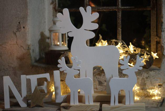 Duży renifer - SeeHome - Dekoracje bożonarodzeniowe