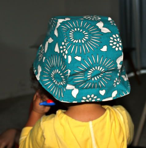 Reversible 40′s Inspired Sun Cap with Free Pattern | Prudent Baby