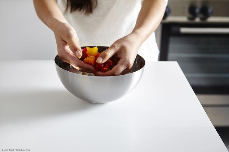 O salată de fructe ne dă un plus de energie la sfârșit de săptămână.