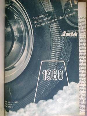 AUTÓ MOTOR 1960