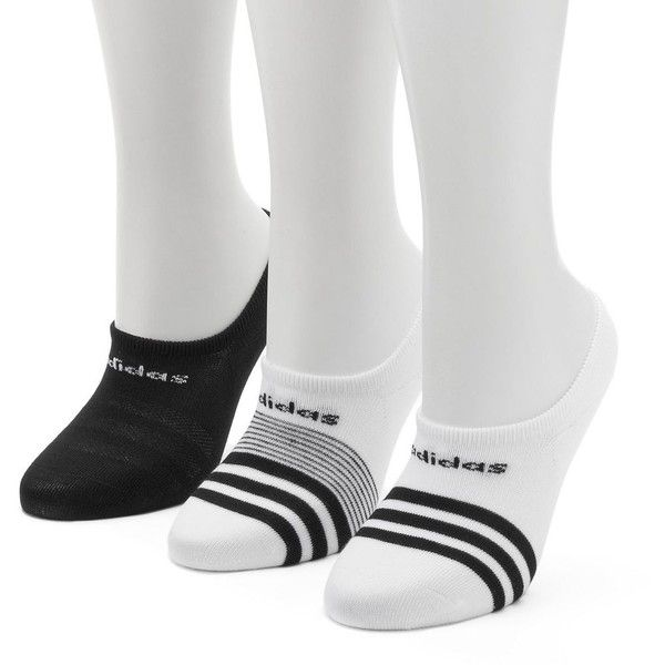 Women's Adidas 3-pk. climalite Superlite Super No-Show Socks ($11) ❤ liked on Polyvore featuring intimates, hosiery, socks, ovrfl oth, padded socks, cushioned socks, sweat wicking socks, moisture wicking socks and adidas socks