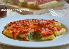 Crepes ricotta e spinaci