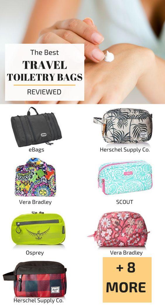 Best Travel Toiletry Bags   Best Toiletry Bags for Women   Best Toiletry Bags for Men