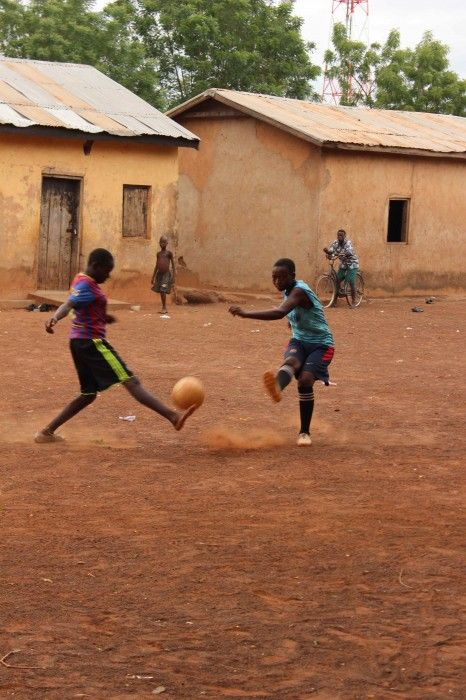 The power of football in combating poverty.