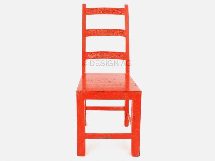 Krzesło Taberna pomarańczowe — Krzesła — KARE® Design