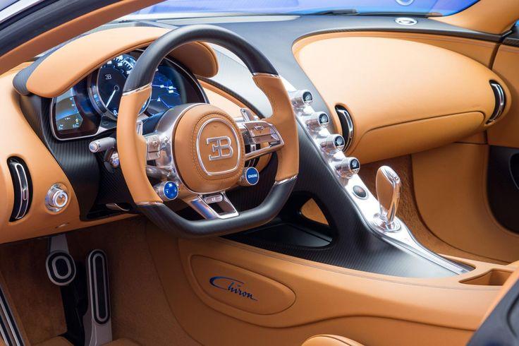 bugatti engineering chief willi netuschil interview chiron steering wheel side…
