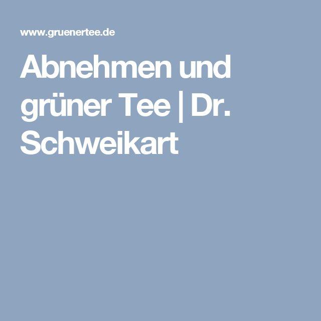 Abnehmen und grüner Tee | Dr. Schweikart