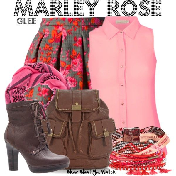 Inspired by Melissa Benoist as Marley Rose on Glee.