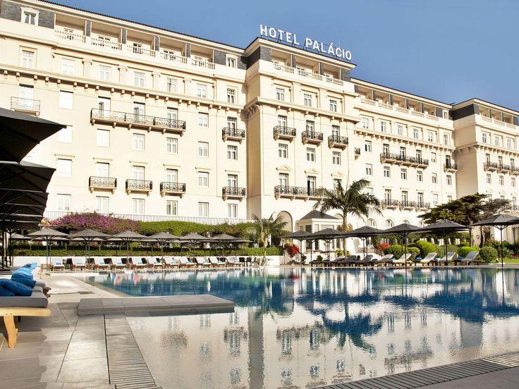 James Bond was born here! Hotel Palácio Estoril #Portugal #JamesBond #hotels