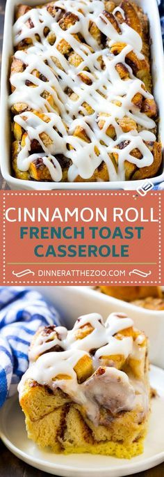 Cinnamon Roll French Toast Casserole   Cinnamon Roll French Toast Bake   Cinnamon Roll French Toast   Cinnamon French Toast