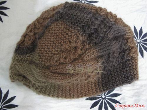 Понравилась мне эта шапочка, и точно себе свяжу!!!