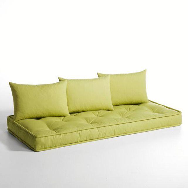 matelas et coussins pour banquette hiba la redoute interieurs dodo pinterest coussin pour. Black Bedroom Furniture Sets. Home Design Ideas
