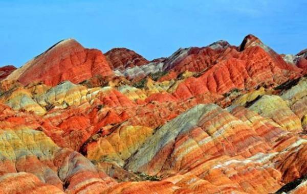 Diese Regenbogen-Berge sind geheime geologisches Wunder Chinas