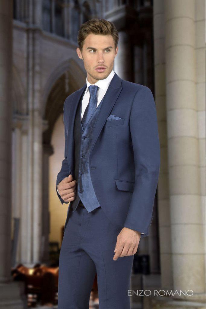 ¿Te gustan los trajes de novio clásicos? ¡Encuentra tu favorito! http://www.enzoromano.com/clasicos-2016/