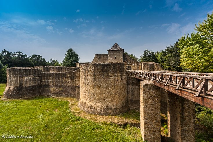 Medieval fortress of Suceava, Romania