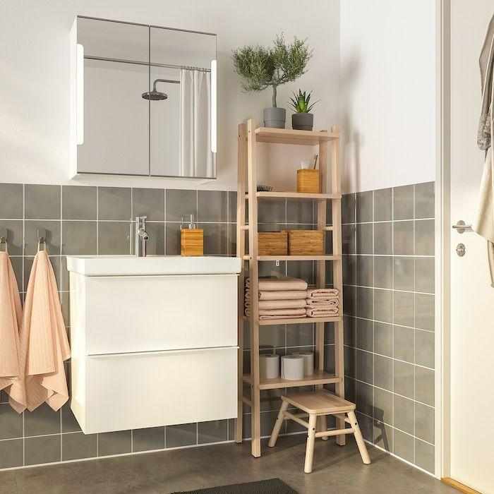 Vilto Regal Birke Ikea Deutschland In 2020 Bathroom Shelf Unit Shelves Shelf Unit