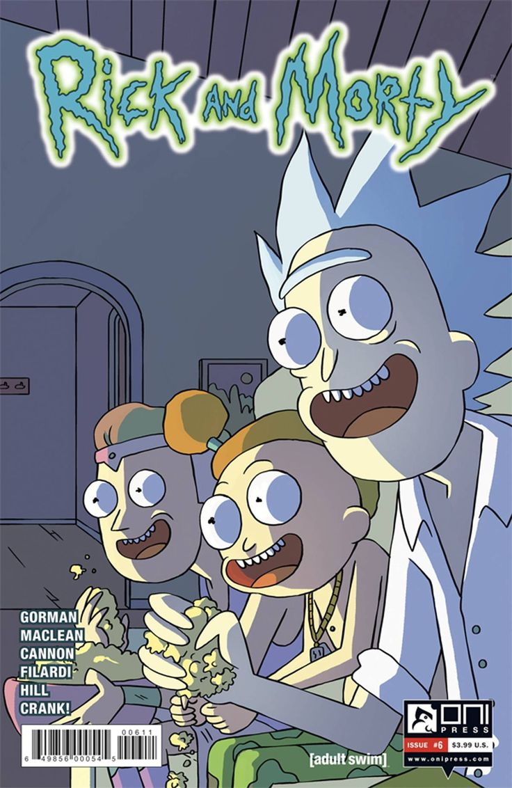 Rick & Morty (2015) Issue #6