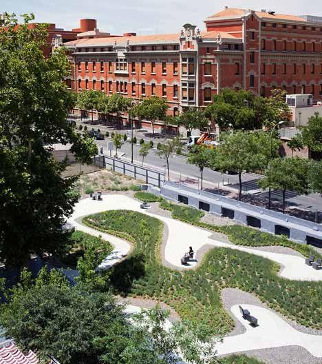 La Paz Nursing Home Garden by Estudio Caballero Colón - Dezeen