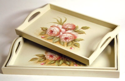 17 best images about paintables on pinterest wood tray for Wooden canape trays
