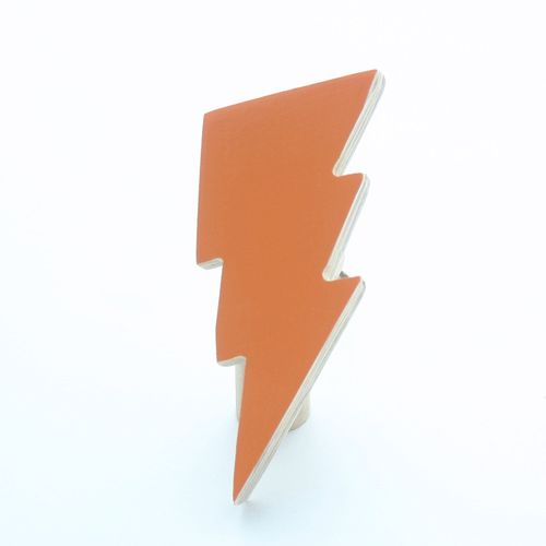 The Wall Collective's Lightning Bolt Wall Hook is amazing décor for the trendy little person in your life. Add a stylish yet playful element to your interior with this beautiful and practical wall accessory.