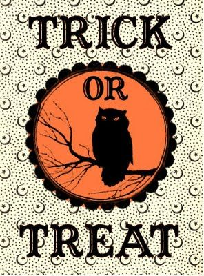 Free Halloween Printable-trick or treat #halloween #printablesHoliday, Vintage Halloween, Halloween Stuff, Treats Bags, Tricks Or Treats, Halloween Costumes, Free Halloween, Halloween Printables, Graphics Fairies