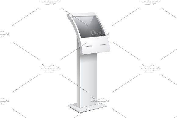 Information Kiosk, POS POI Terminal by Sunny on @omairsart #PASSWORD #INFO #SERVICE #KEYPAD #STATION #BLANK #ATM #DISPLAY #WHITE #SCREEN