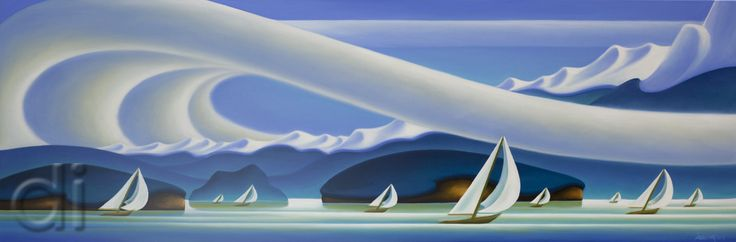 Winter Sail, by Dana Irving