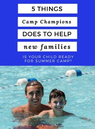 Is your child ready for summer camp? At Camp Champions, we implement a few practices that help these campers transition to the unforgettable camp experience ahead. | Summer camp in Texas | Overnight camp | Best summer camps in Texas