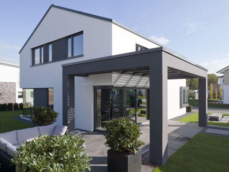Elegantes Architektenhaus in einer neuen modularen Dimension - Das elegante Satteldachhaus Concept-M 172 verbindet Design, Komfort, Innovation und Nachhaltigkeit auf eine neue Weise miteinan...