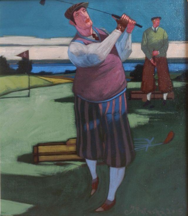 ArtGalery ° PERSONALART.PL tytuł/title: Golf Shot author: Jacek Pałucha personalart.pl/Jacek-Palucha