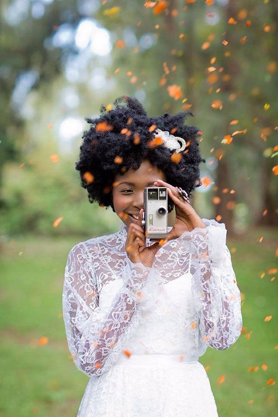 natural hair brides 17                                                                                                                                                      More