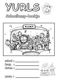Yurls Werkboekjes :: werkboekje schoolkamp.