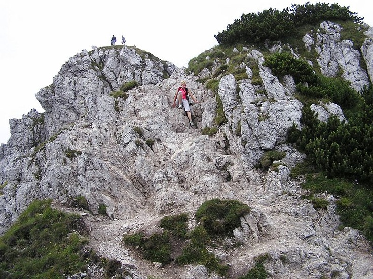 Trekking and Sliding at Rozsutec
