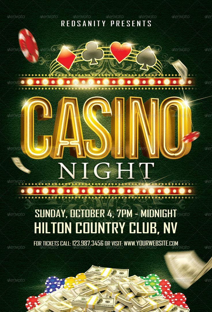 Ultimate Casino Night Flyer | Casino Infographics