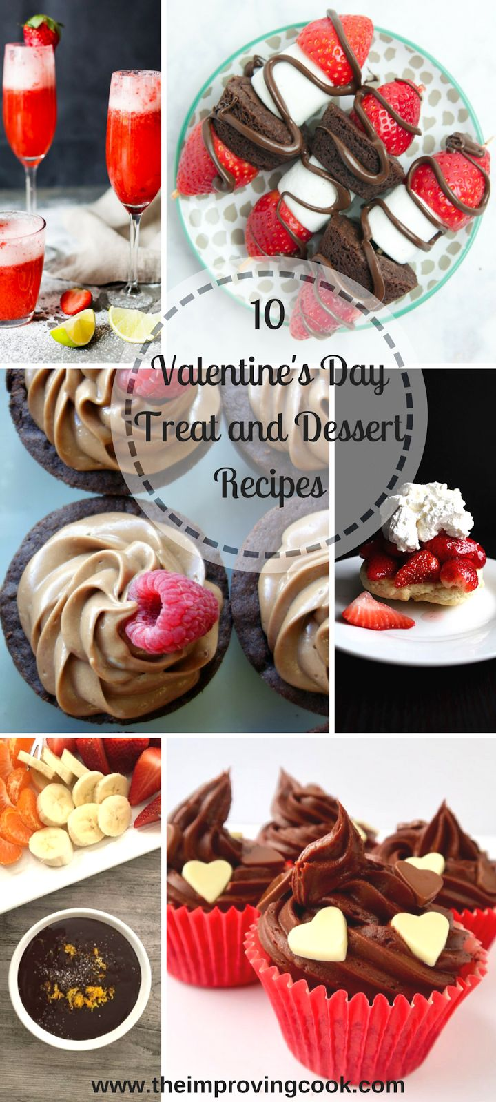 I have rounded up 10 delicious, Valentine's Day treat recipes from fellow food bloggers, that are perfect for finishing off your meal, sending into school or making with the kids. If you need a Valentine's Day treat or dessert idea, you're sure to find one is this list. Read on!