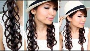 feather loop braid-looks cute on her, idk about me though lol