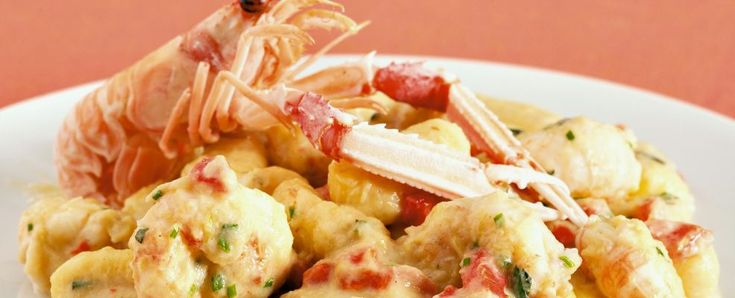 ricetta gnoccheti di patate con scampi e porro Sale&Pepe