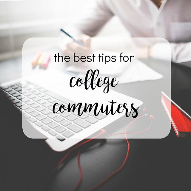 Lifetips College tricks for college commuting