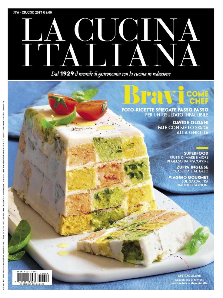 La cucina italiana giugno 2017 mar
