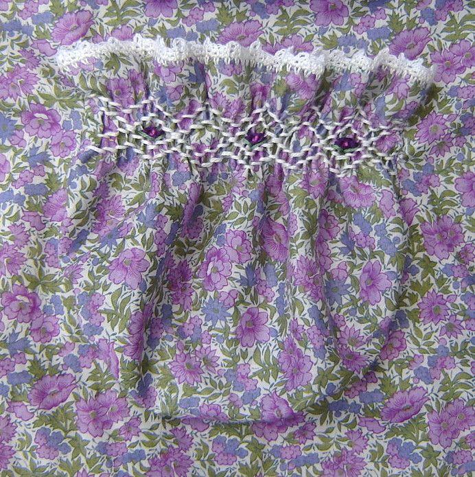 smocked pocket pattern and details